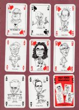 Collectible playing cards 1992 Polit-poker International